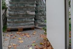 Två pallar pellets, 1,6 ton