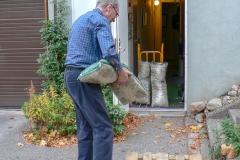 Sista säcken, the last sac