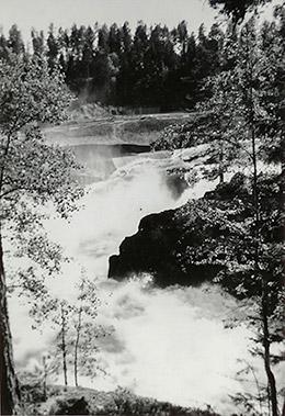 Fällforsen, Agfa clack, ca 1958