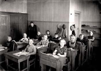 Pärs skolklass 1948, Pär tvåa i mittraden