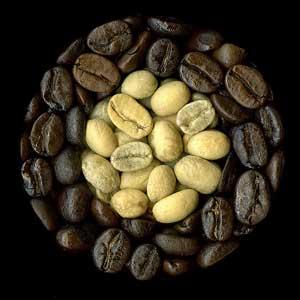 Kaffebönor, bild från Historiebloggen.