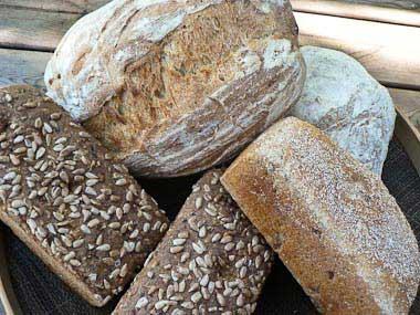 Bröd från Näsets vedugnsbageri, Katrineholm